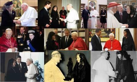 Ritual papa y reina Inglesa