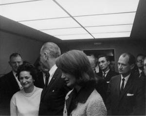 Lyndon B. Johnson guiño de ojo