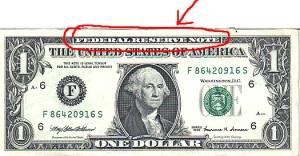 Billete de 1 Dolar