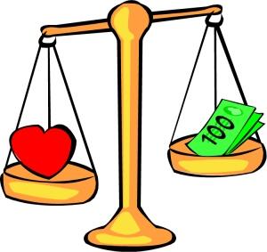 Dinero contra amor