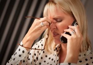 Celular y Dolor de cabeza